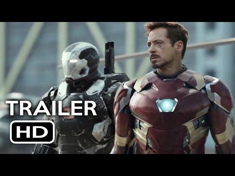 Captain America: Civil War Official Trailer #1 (2016) Chris Evans, Robert Downey Jr. Movie HD
