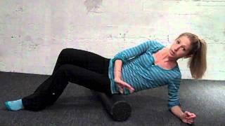 Foam Roll Sore Muscles. Quick, Free, Massage Routine by Caroline Jordan