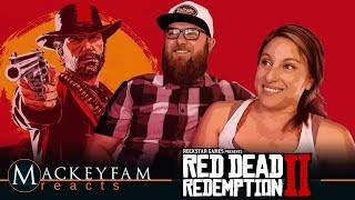 Red Dead Redemption 2: Official Gameplay- REACTION and REVIEW!!!