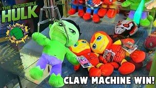The Incredible Hulk | Claw Machine Win | MrHaztastic