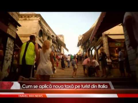 Cum se aplica noua taxa pe turist din Italia