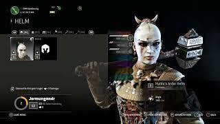 For Honor Y3 Jormungandr Customize Hilt Shaft Head of Hammer