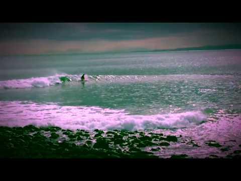 Surfing Manu Raglan On Foam Alaia