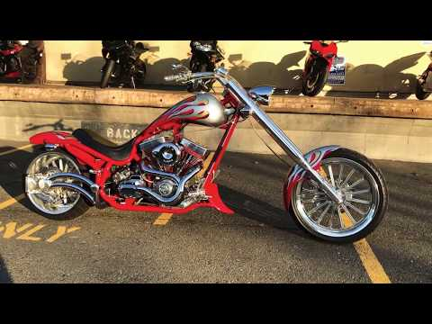 2004 BOURGET'S BIKE WORKS FAT DADDY CHOPPER in Auburn, Washington - Video 2