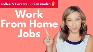 WORK FROM HOME JOBS and Where to Find Them
