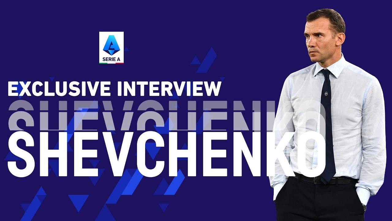 Andriy Shevchenko: Milan-Juve it's the Clash of the Titans! | Exclusive Interview | Serie A 2021/22