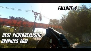 Best Fallout 4 Photorealistic Graphics Gameplay 2018