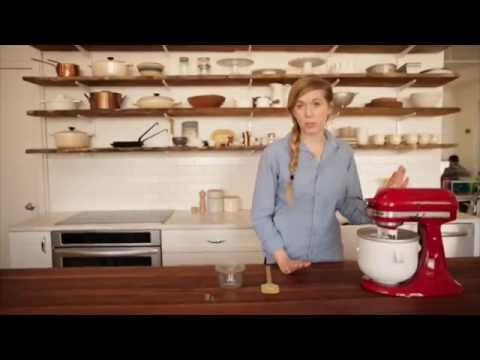 Video Stand Mixer Recipes: Olive Oil Gelato | KitchenAid
