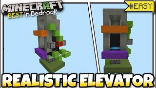 how to make a piston elevator in minecraft 2019 - TH-Clip
