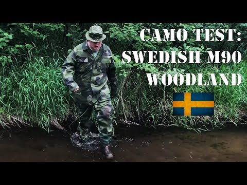 Camo Field Test #1: Swedish M90 Woodland- In North Wisconsin