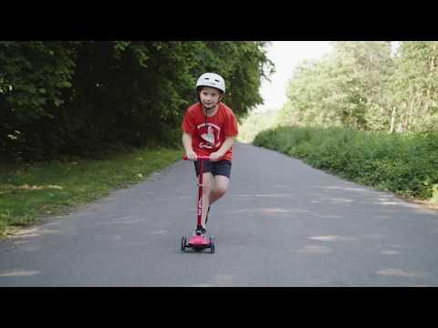 """Produktvorstellung """"fun pro ONE"""" Kinderroller mit LED - Kickboard, Kinder rollern, 3-Rad-Roller"""