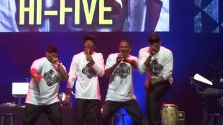 Hi-Five Performing at R&B REWIND: 'She's Playing Hard to Get'