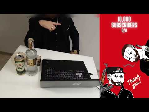 10,000 (12k) Subscribers chill and 4h Q&A with Yugopnik LIVE Summary. + lots of Vodka.