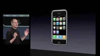 Steve Jobs introduces the App store  - iPhone SDK Keynote