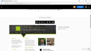 Showcase mit Dropbox Professional erstellen