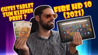 Günstiges Tablet? Das neue Amazon Fire HD10 (2021) Unboxing und Test (inkl. BlueTooth Keyboard)