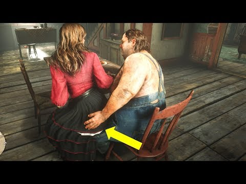 What The Couple Does if You Decide to Leave - Red Dead Redemption 2