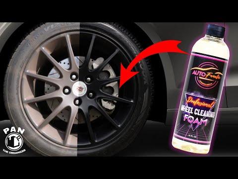 AUTO FANATIC Professional Wheel & Tire Cleaning Foam (RTU)