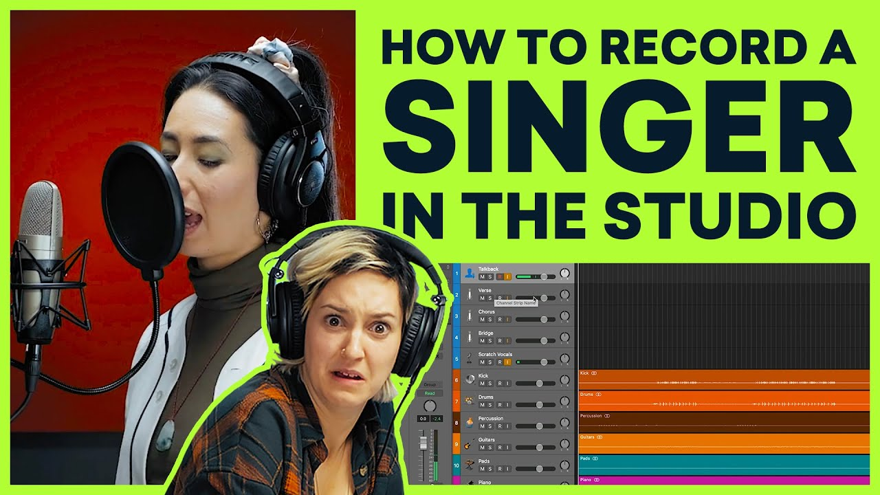 How To Record A Singer In The Studio (And Get Great Vocal Takes)