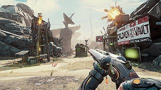 Borderlands 3 Upgraded PC Graphics Ultra Graphics Comparison Gameplay