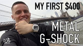 I Was So WRONG! A $400 G-Shock Metal Watch - Hype Or Future Classic?