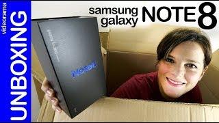 Samsung Galaxy Note 8 unboxing -el retorno del rey-