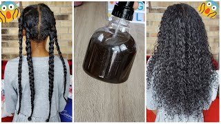 Use This Twice A Week For Extreme Hair Growth Block DHT And Grow The Hair Of Your Dream
