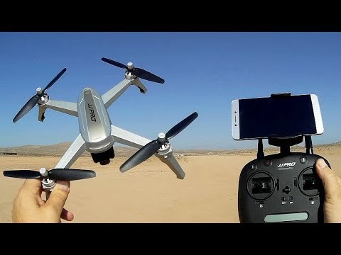 JJPRO X5 EPIK Brushless GPS 1080p FPV Follow Me Drone Flight Test Review