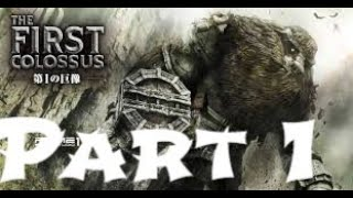 Shadow Of The Colossus Walkthrough Gameplay Part 1 Full HD 1080p.