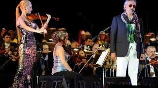 Anema e core - duetto Andrea Bocelli e Anastasiya Petryshak