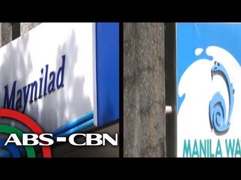 [ABS-CBN]  TV Patrol: Buwis ng water concessionaires, bawal nang ipasa sa konsumer