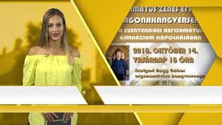 Programajánló / TV Szentendre / 2018.10.11.