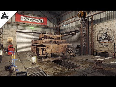Gameplay de Tank Mechanic Simulator
