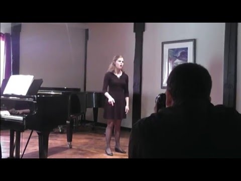 "2015 private recital, Jonathan Larson's ""Come To Your Senses"""