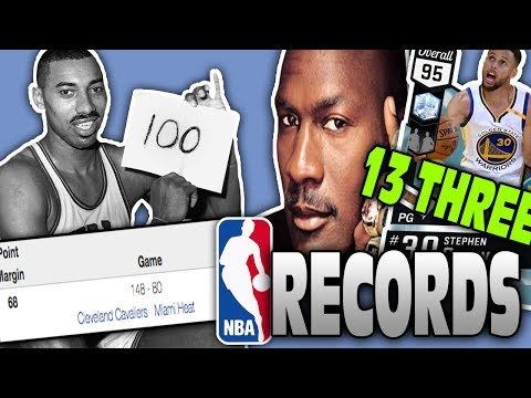 SPIN THE WHEEL OF NBA RECORDS! NBA 2K17 SQUAD BUILDER