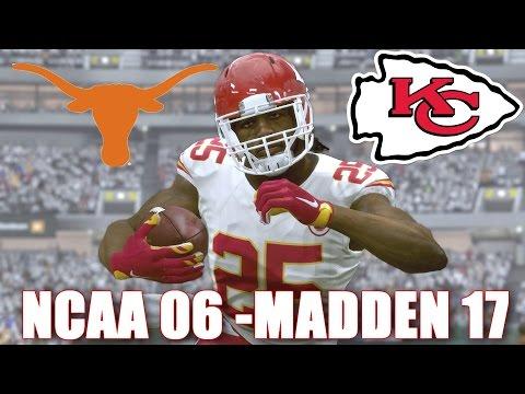 Jamaal Charles Through the years - NCAA Football 06 - Madden 17