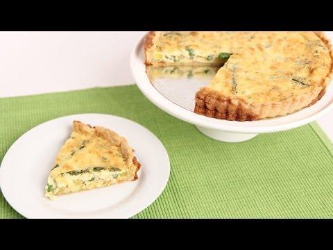 Veggie Quiche Recipe – Laura Vitale – Laura in the Kitchen Episode 754