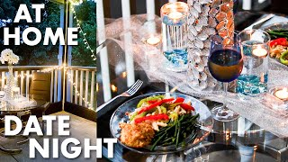 INEXPENSIVE Date Night At Home   Dollar Tree Decor   Quarantine At Home Date Night