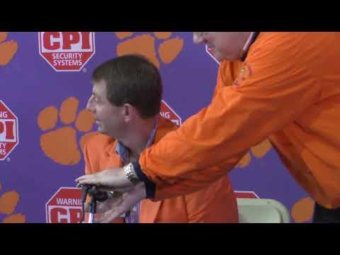 TigerNet: Dabo Swinney on Signing Day, Alabama, Pt. 2