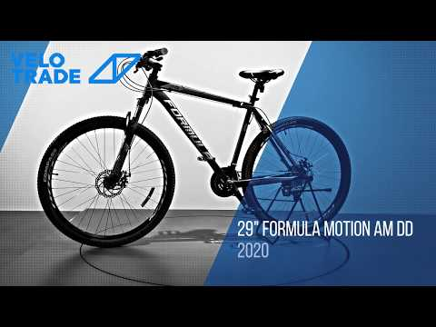 "Велосипед 29"" Formula MOTION DD 2020: video"