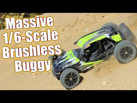 Huge Brushless Basher Buggy! Rage RC RZX 2WD Brushless 1/6 Scale RTR Review & Action | RC Driver