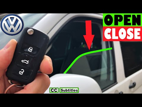 VW Comfort Windows Opening and Closing - How to remote open Windows on VW