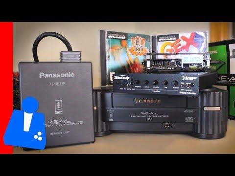 My Panasonic 3DO Setup!   240p Mode   Rare Memory Expansion Unit   iScan Line Doubler - H4G