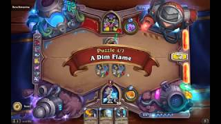 Solution Puzzle Lab Lethal: A Dim Flame - Myra Rotspring (4/7), Hearthstone Boomsday