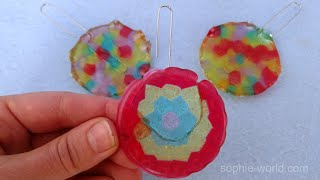 How To Make A Melted Bead Suncatcher | Sophies World