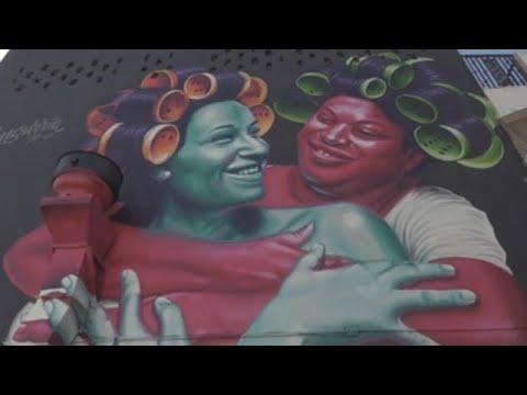 """Arranca en San Juan """"Santurce es Ley"""" con obras de temática social"""