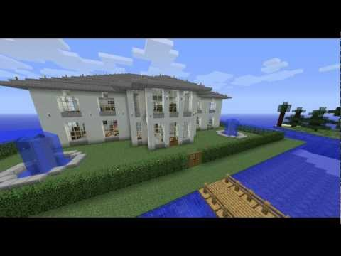 Modern house download minecraft project for Big modern houses on minecraft