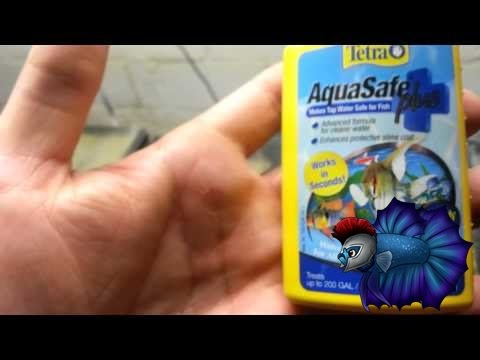 Aquarium Product Review Aquasafe Water Conditioner