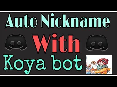 mp4 Auto Nickname Bot Discord, download Auto Nickname Bot Discord video klip Auto Nickname Bot Discord