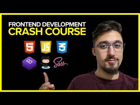 Free Frontend Web Development Crash Course: Build A Professional Portfolio From Scratch (~5 Hours)